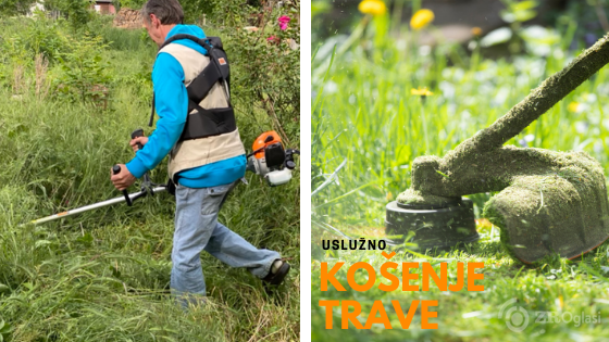 kosenje trave trimerom