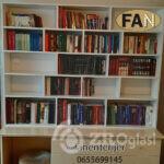 polica za knjige po meri kucna biblioteka namestaj zrenjanin fan enterijer
