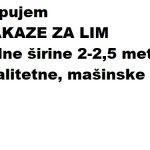 Kupujem MAKAZE ZA LIM -354f7c98
