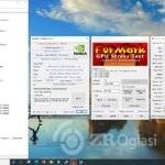 GTX 1650 4GB Intel i3-9100F,Furmark 1.25.1 Test-d9726467